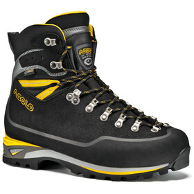 Asolo Piolet GV Zapatillas Hombre, negro/amarillo